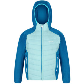 Regatta Kielder Hybrid IV Jacket Kids, cool aqua/blue aster